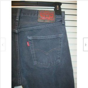 Levi's 501 Button Fly Size 30X34 Blue/Green Jeans